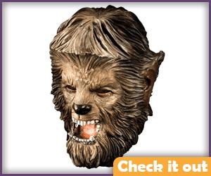 Wolfman Latex Mask.