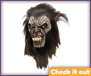 Wolfman Mask Large Teeth.