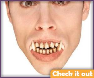 Wolfman Teeth Prop.