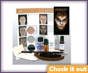 Wolfsbane Costume Makeup Kit.