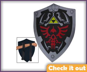 Foam Dark Hylian Shield.