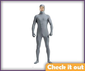 Grey Bodysuit.