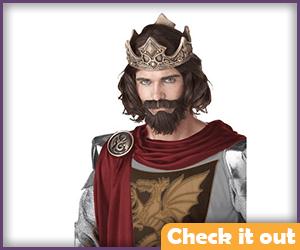 Aragorn Costume King Wig.