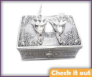 Arwen Costume Earrings with Box.