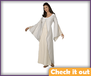 Arwen Costume White Dress.