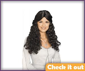 Arwen Costume Wig.