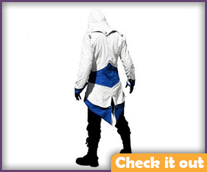 Connor Kenway Blue and White Jacket.
