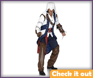 Connor Kenway Costume Cosplay Set.