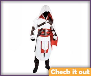 Ezio Costume Brotherhood Cosplay.