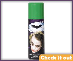 Green Hair Spray.