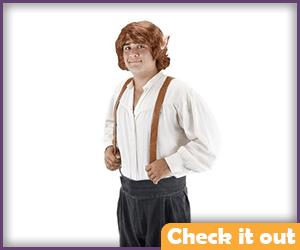 Bilbo Baggins Wig.