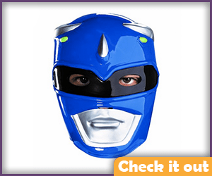 Blue Power Ranger Costume Mask.