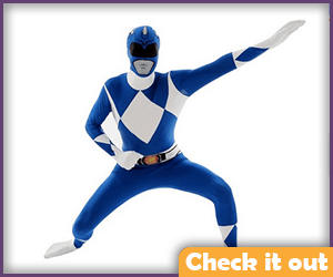 Blue Power Ranger Costume Morphsuit.