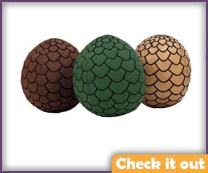 Plush Dragon Eggs.