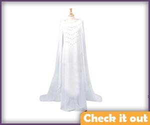 Galadriel Cosplay White Dress.