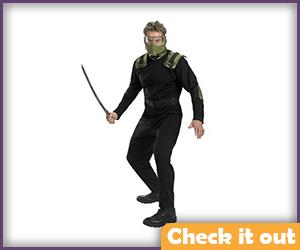 Green Goblin Costume Set.