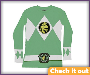 Green Ranger Long-Sleeve Tee.