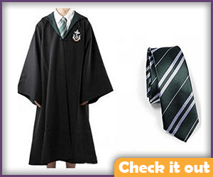 Slytherin Robes.