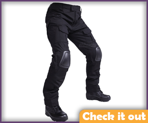 Black Tactical Pants.