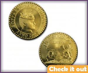 Joffrey Mint Coin.