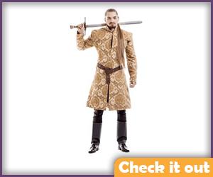 Joffrey Baratheon Costume Beige Set.