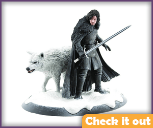 Jon and Ghost Figure.