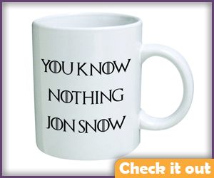 Jon Snow Mug.