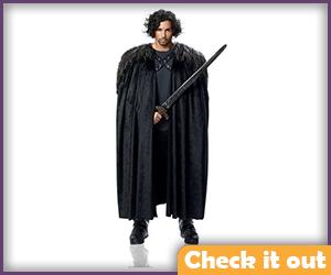 Jon Snow Costume Set.