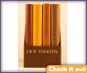 The Hobbit and Lord of the Rings Book Set.