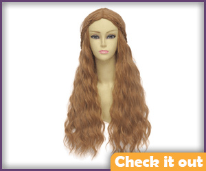 Margaery Tyrell Costume Wig.
