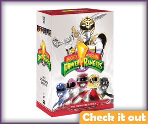 Mighty Morphin Power Rangers The Complete Series.