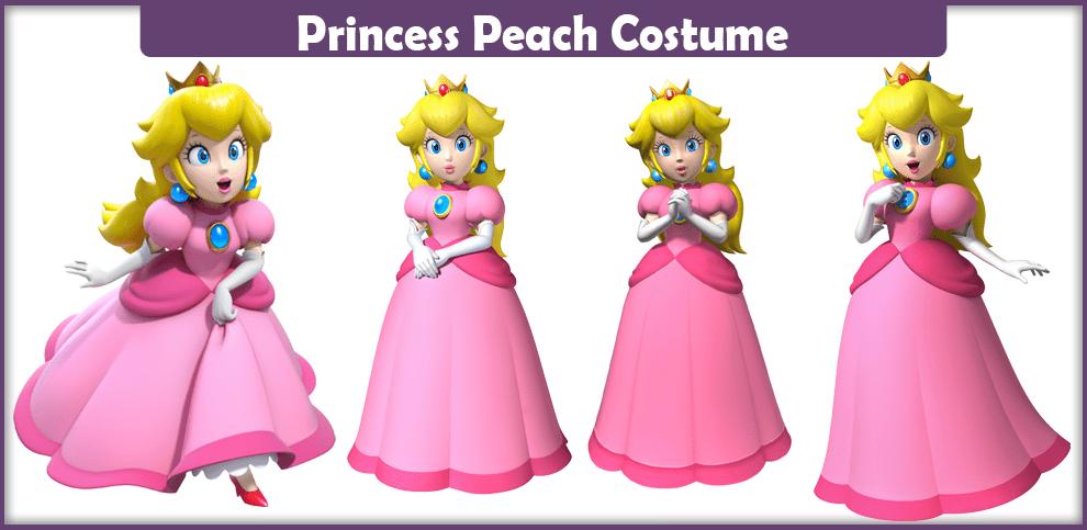 Nintendo ...  sc 1 st  Cosplay Savvy & Princess Peach Costume - A DIY Guide - Cosplay Savvy