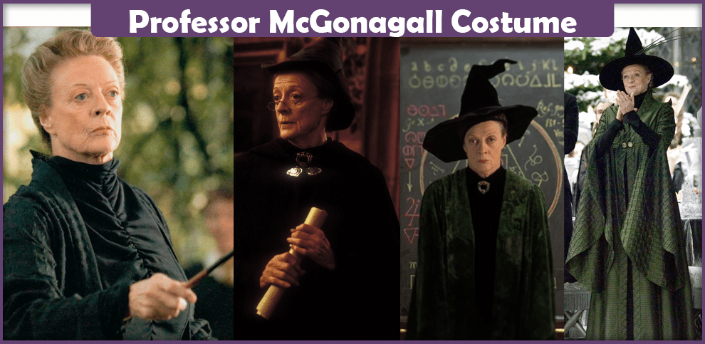 Professor McGonagall Costume - A DIY Guide