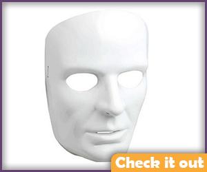 Men's White Mask.