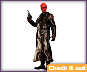 Red Skull Figure.