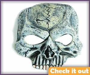 Half Skull Mask.