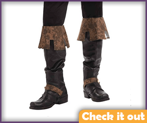 Renly Baratheon Costume Boot Covers.