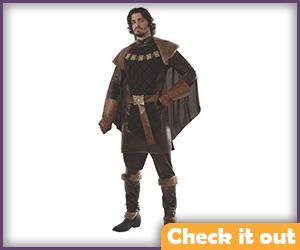 Renly Baratheon Costume Brown Set.
