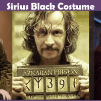 Sirius Black Costume - A DIY Guide