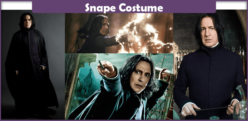 Snape Costume – A DIY Guide