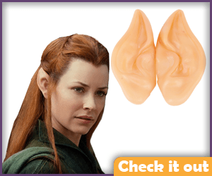 Tauriel Costume Ear Covers.