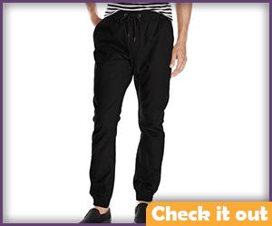 Black Cotton Pants.
