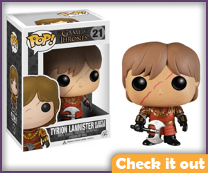 Tyrion Lannister Scar Funko.