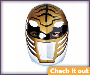 White Power Ranger Costume Mask.