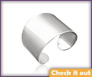 Silver Cuff Bracelet.