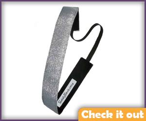 Silver Headband,