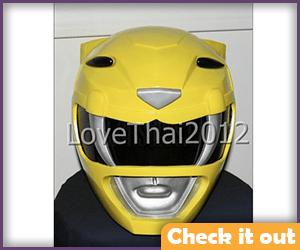 Yellow Ranger Helmet Replica.