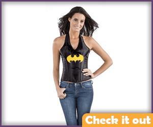 Batgirl Costume Halter Top.