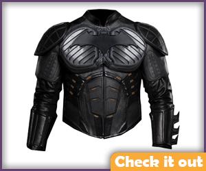 Batman Begins Leather Jacket.