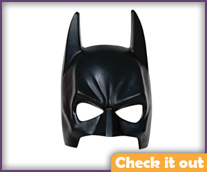 Batman Costume Half Mask.